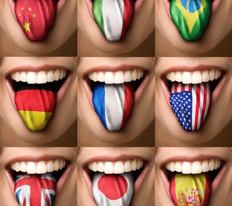 A semelhança dos idiomas ao redor do mundo